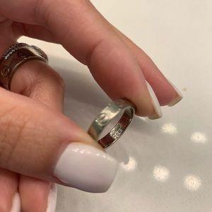Cartier Jewelry - Cartier love ring wedding band 18K WG mini version